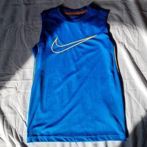 Boys Blue Nike Dri-Fit Tank Top